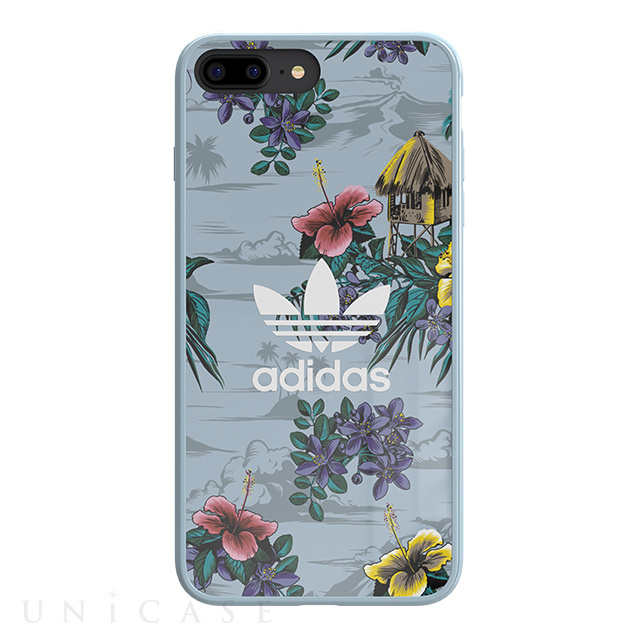 【iPhone8 Plus/7 Plus ケース】Snap case (Floral/Ash Grey)