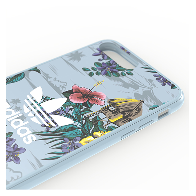 【iPhone8 Plus/7 Plus ケース】Snap case (Floral/Ash Grey)サブ画像