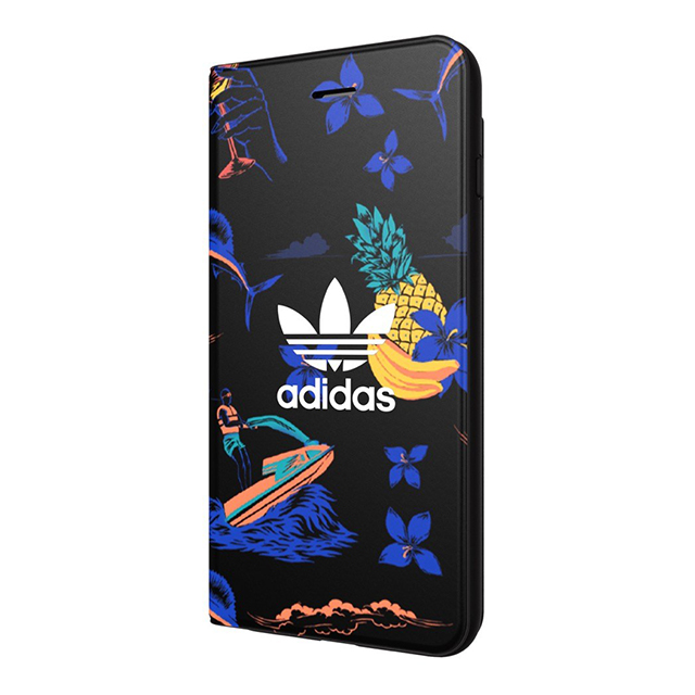 【iPhone8 Plus/7 Plus ケース】Booklet Case (Beach/Black)サブ画像