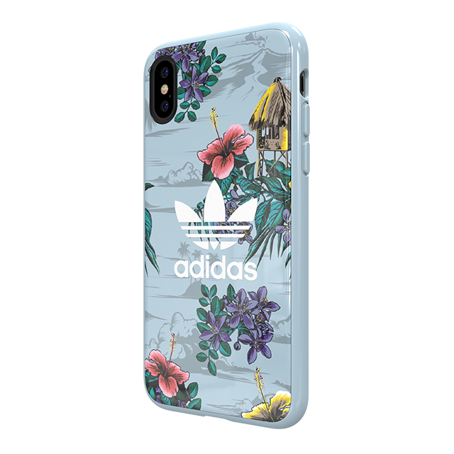 【iPhoneXS/X ケース】Snap case (Floral/Ash Grey)サブ画像