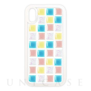 【iPhoneXS/X ケース】TILE CASE (tile_pop color mix)