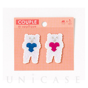 APPLIQUE COUPLE (KUMA COUPLE)