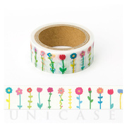 masking tape (flower colorful)