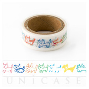 masking tape (nekoborder colorfu...