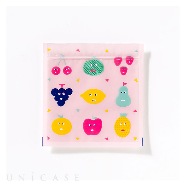 Zipper Bag Mサイズ (FRUITSCHAN)