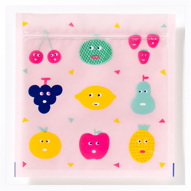 Zipper Bag Mサイズ (FRUITSCHAN)サブ画像