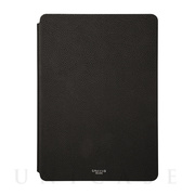"【iPad(9.7inch)(第5世代/第6世代) ケース】""EURO Passione"" Book PU Leather Case (Black)"