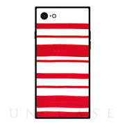 【iPhone8/7 ケース】TILE (ボーダー RED)