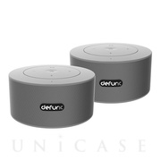 defunc Bluetooth Speaker DUO (Silverish)