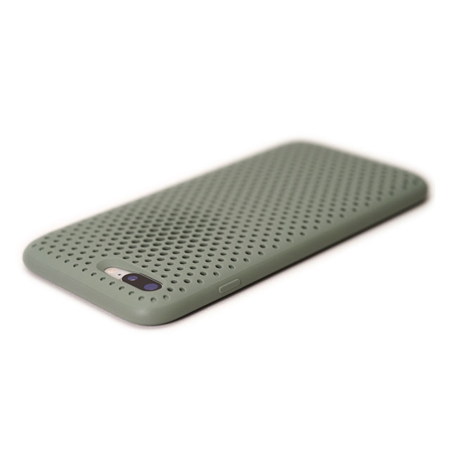 【iPhone8 Plus/7 Plus ケース】Mesh Case (Clay Green)サブ画像