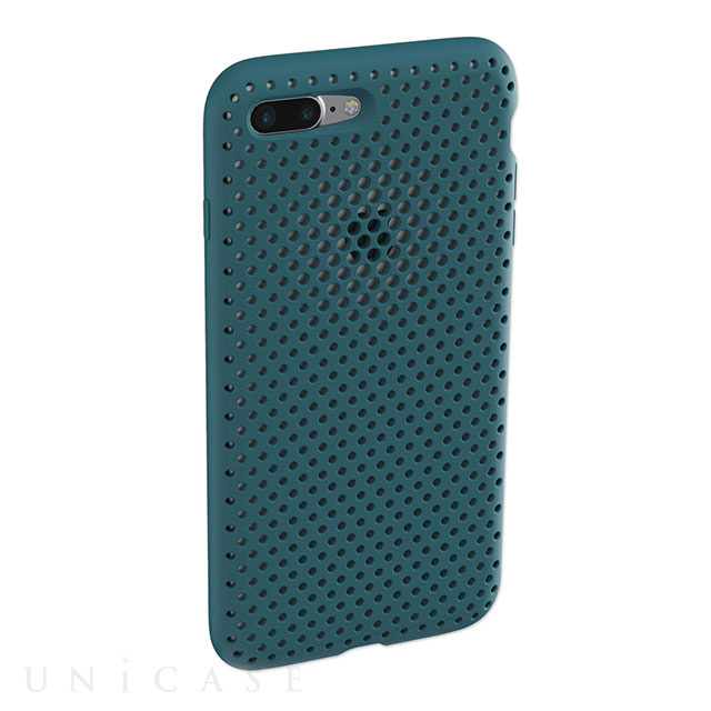 【iPhone8 Plus/7 Plus ケース】Mesh Case (Lake Green)