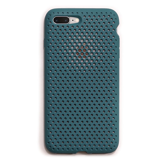 【iPhone8 Plus/7 Plus ケース】Mesh Case (Lake Green)サブ画像