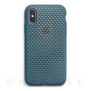 【iPhoneXS/X ケース】Mesh Case (Lake Green)