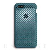 【iPhoneSE/5s/5 ケース】Mesh Case (Lake Green)