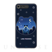 【iPhone8/7 ケース】LINE FRIENDS LIGHT UP CASE (ブラウン)