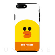 【iPhone8 Plus/7 Plus ケース】LINE FRIENDSケース フェイス (サリー)