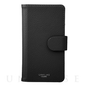 "【マルチ スマホケース】""EveryCa2"" Multi PU Leather Case for Smartphone M (Black)"