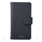 "【マルチ スマホケース】""EveryCa2"" Multi PU Leather Case for Smartphone L (Navy)"