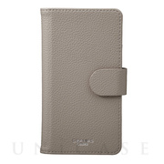 "【マルチ スマホケース】""EveryCa2"" Multi PU Leather Case for Smartphone L (Gray)"