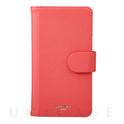 "【マルチ スマホケース】""EveryCa2"" Multi PU Leather Case for Smartphone L (Pink)"