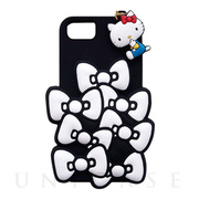 【iPhone8/7/6s/6 ケース】SANRIO/SILICONE RIBBON iPhone CASE (ブラック)