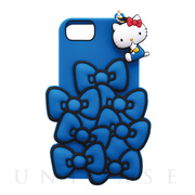 【iPhone8/7/6s/6 ケース】SANRIO/SILICONE RIBBON iPhone CASE (ブルー)