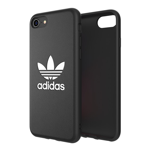 【iPhone8/7/6s/6 ケース】TPU Moulded Case BASIC (Black/White)サブ画像
