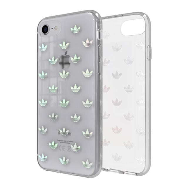 【iPhone8/7/6s/6 ケース】Clear Case (Trefoils colorful logo)サブ画像
