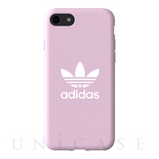 【iPhoneSE(第2世代)/8/7/6s/6 ケース】adicolor Moulded Case (Clear Pink)