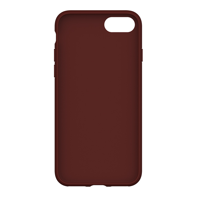 【iPhoneSE(第2世代)/8/7/6s/6 ケース】adicolor Moulded Case (Maroon)