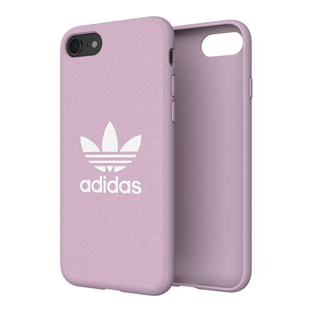 【iPhoneSE(第2世代)/8/7/6s/6 ケース】adicolor Moulded Case (Clear Pink)サブ画像