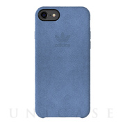 【iPhoneSE(第2世代)/8/7 ケース】Slim Case ULTRASUEDE Case (Blue)