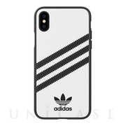 【iPhoneXS/X ケース】Moulded Case SAMBA (White/Black)