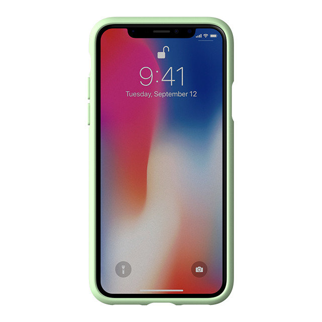 【iPhoneXS/X ケース】adicolor Moulded Case (Clear Mint)サブ画像