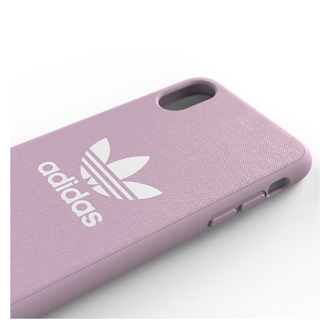 【iPhoneXS/X ケース】adicolor Moulded Case (Clear Pink)サブ画像