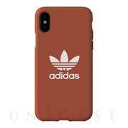 【iPhoneXS/X ケース】adicolor Moulded Case (Shift Orange)