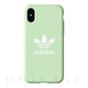 【iPhoneXS/X ケース】adicolor Moulded Case (Clear Mint)