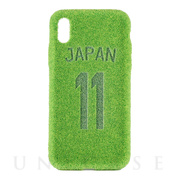 【iPhoneXS/X ケース】ShibaCAL Soccer (Numbering)