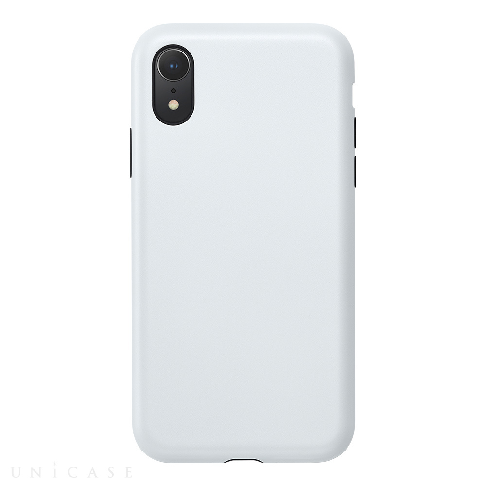 【iPhoneXR ケース】Smooth Touch Hybrid Case for iPhoneXR (Silky White)