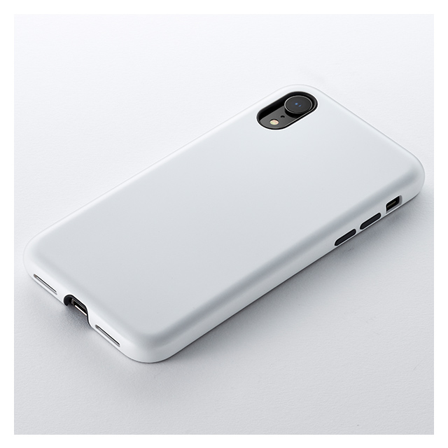 【iPhoneXR ケース】Smooth Touch Hybrid Case for iPhoneXR (Silky White)サブ画像