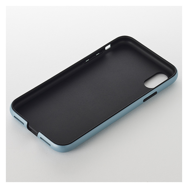 【iPhoneXR ケース】Smooth Touch Hybrid Case for iPhoneXR (Iron Black)サブ画像