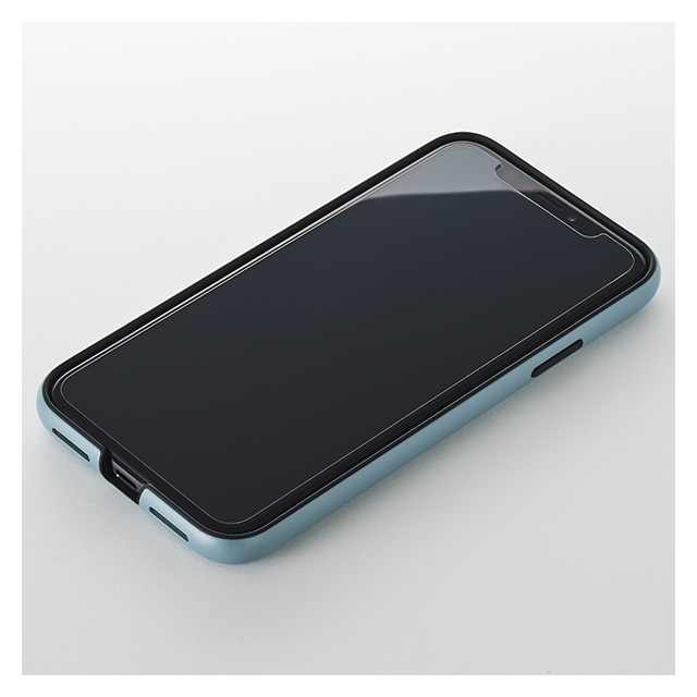 【iPhoneXR ケース】Smooth Touch Hybrid Case for iPhoneXR (Azure Blue)サブ画像