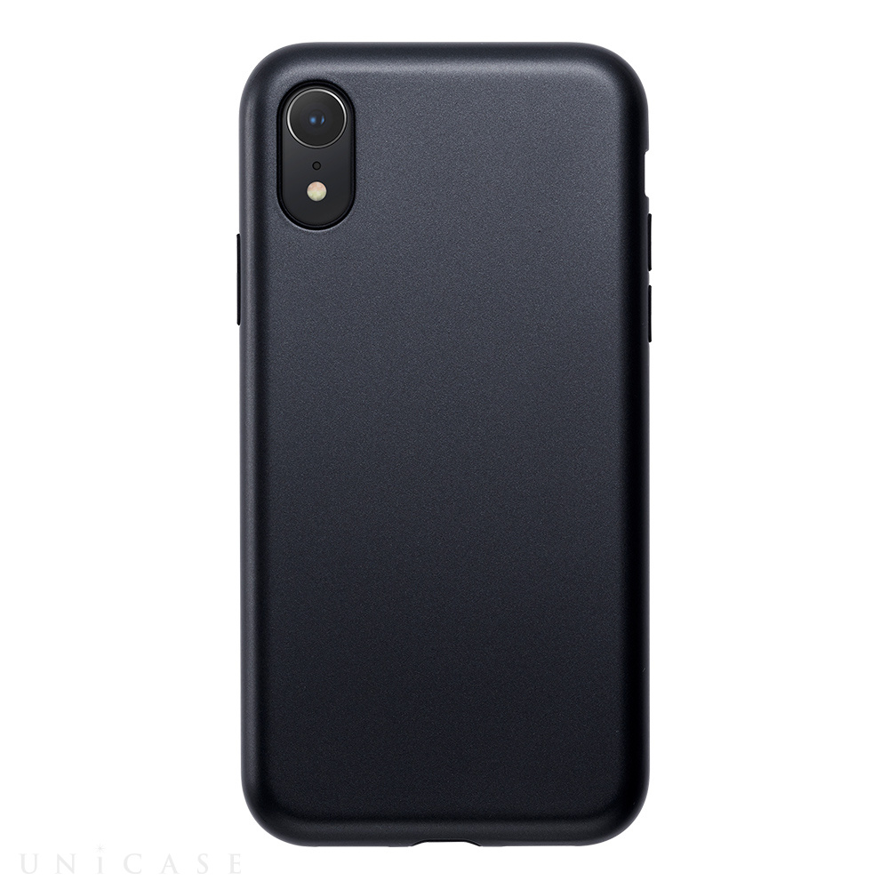 【iPhoneXR ケース】Smooth Touch Hybrid Case for iPhoneXR (Iron Black)