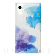【iPhoneXR ケース】Louna Collections watercolor for iPhoneXR (night)