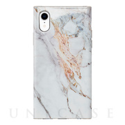 【iPhoneXR ケース】Maelys Collections Marble for iPhoneXR (White)