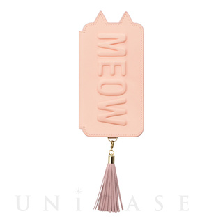 【iPhoneXS/X ケース】Tassel Tail Cat for iPhoneXS/X (Pink)