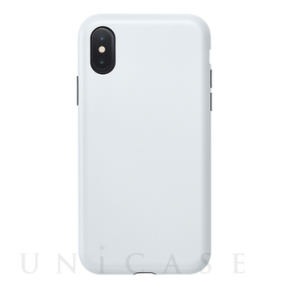 【iPhoneXS/X ケース】Smooth Touch Hybrid Case for iPhoneXS/X (Silky White)