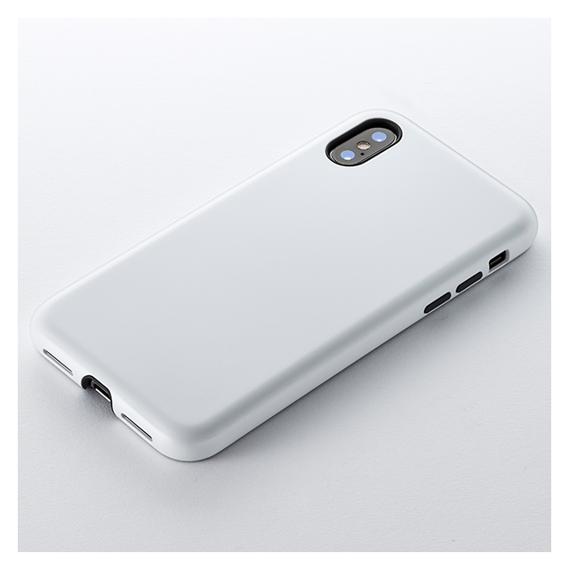 【iPhoneXS/X ケース】Smooth Touch Hybrid Case for iPhoneXS/X (Silky White)サブ画像