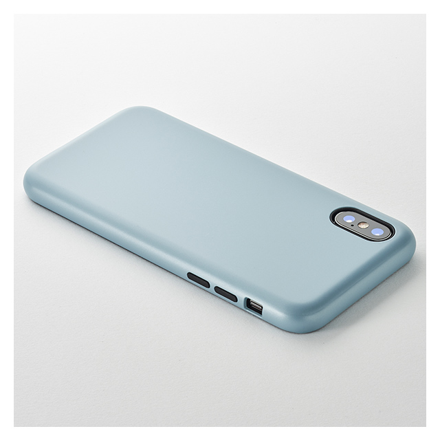 【iPhoneXS/X ケース】Smooth Touch Hybrid Case for iPhoneXS/X (Stone Blue)サブ画像