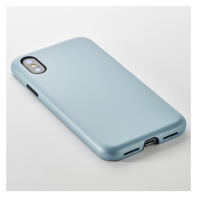 【iPhoneXS/X ケース】Smooth Touch Hybrid Case for iPhoneXS/X (Azure Blue)goods_nameサブ画像